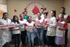 Personal médico se une a la 12 Maratón de donación de sangre