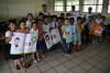 Estudiantes participan activamente de las exposiciones de cuidado ambiental