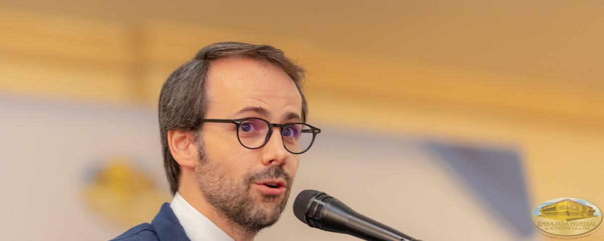 Rector Samuel Martín Barbero