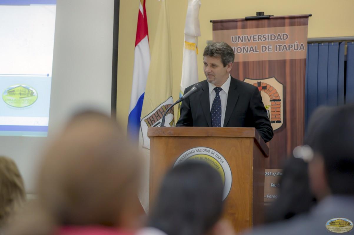 Antonio Kyernyezny   Primer Seminario Taller de la ALIUP - Paraguay