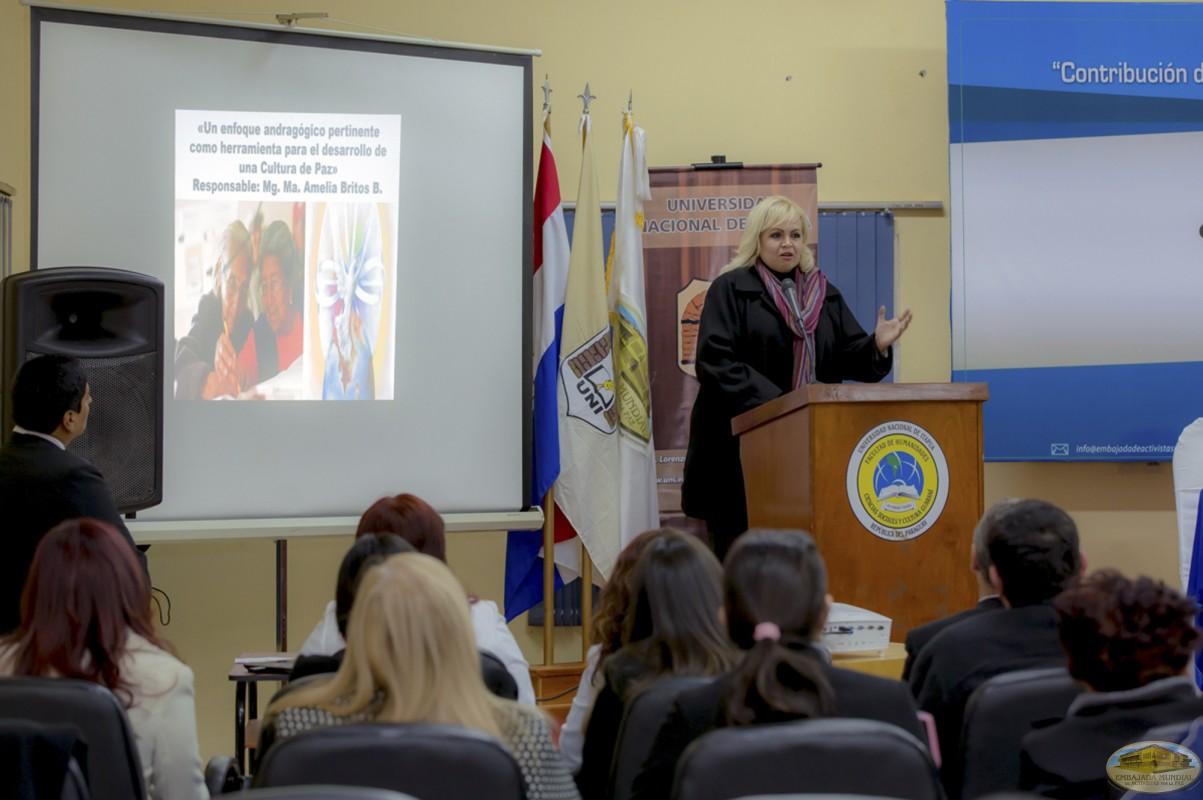 María Amelia Britos   Primer Seminario Taller de la ALIUP - Paraguay