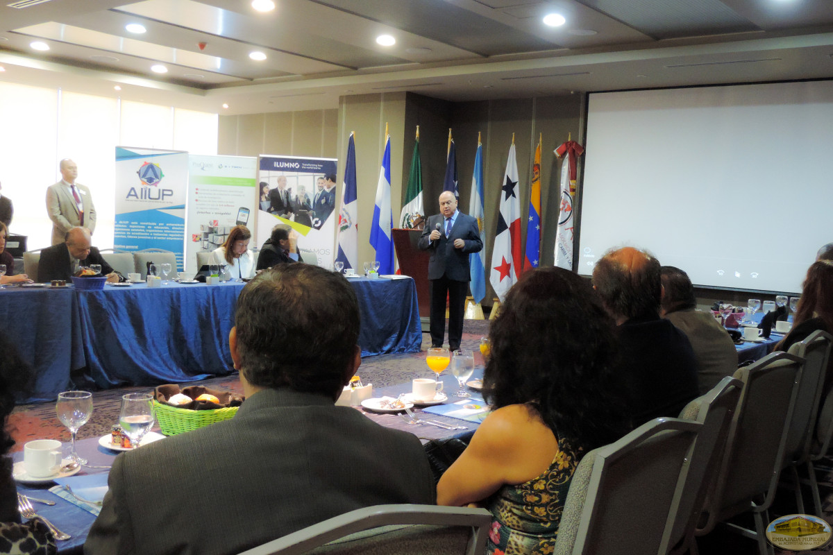 The GEAP participates in a meeting of Higher Education leaders