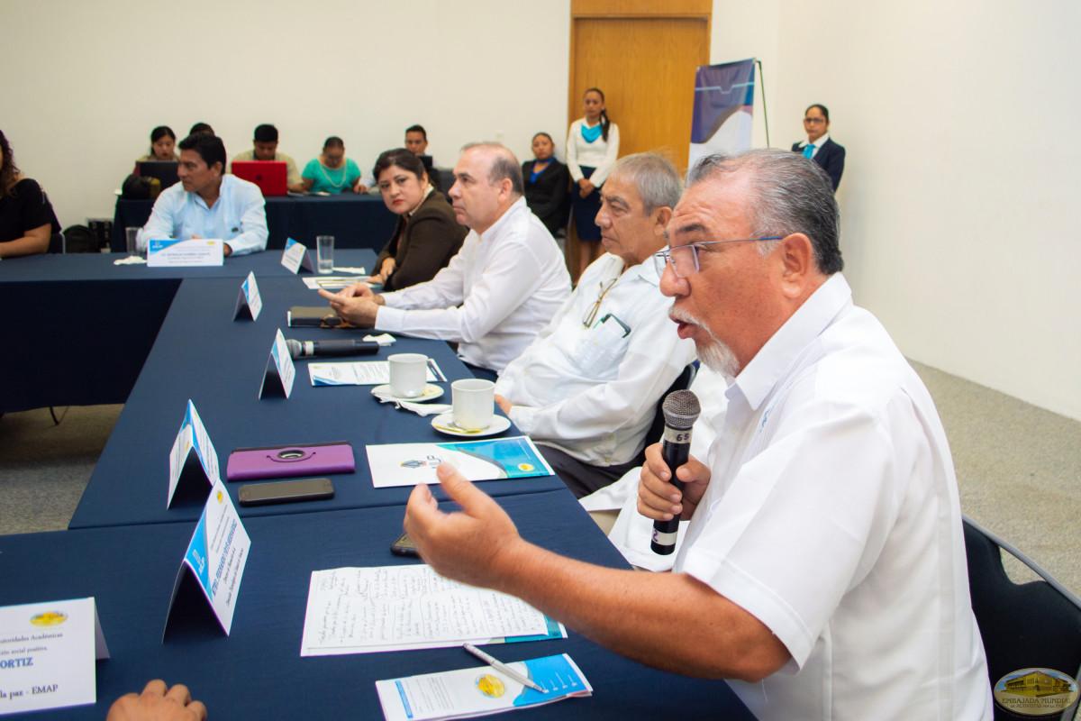 Encuentro de rectores│ Espacio de diálogo por la cátedra para la paz