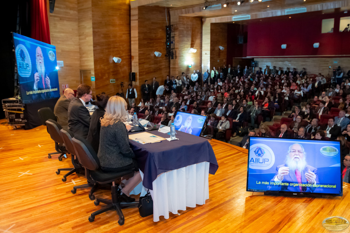 II Assembly of the International Allliance of Universities for Peace is held in Mexico