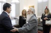Visita al Presidente de Paraguay Horacio Cartes