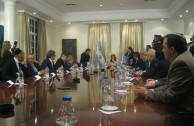 The President of Argentina gave the order to start the construction of the monument to the Holocaust victims