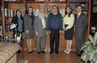 Visita del Dr. William Soto al Nobel de Paz Dr. Oscar Arias Sánchez en Costa Rica