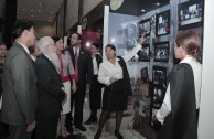 "Presentation of the gallery - ""Educating to Remember"" exhibition, Venezuela"