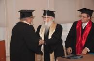 Universidad Cervantina, ceremonia de otorgamiento de Doctorados Honoris Causa