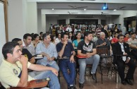 The Educational Forums about the Holocaust are presented in Pedro Juan Caballero, Paraguay