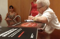"""Presentation of the book """"It is less painful to tell the truth"""" by Etka Ursztein, Holocaust survivor."""