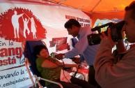 4th Blood Drive Marathon in Bolivia