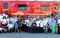 Con mucho éxito se realizó la 4ta. Maratón Internacional de Donación de sangre