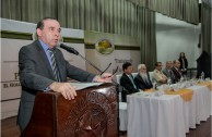 """Forum """"Educating to Remember"""" at the Army's Politechnical School in Guatemala"""