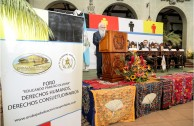 "Forum ""Educating to Remember"" Mayan Autorities at the Cultural Palace"