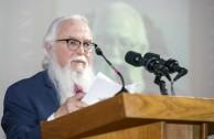 """Dr. William Soto Santiago en su conferencia: """"La prevención y sanción de Genocidio en el siglo XXI"""""""