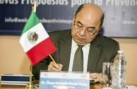 Dr. Oscar Armando Pineda Navas (El Salvador), Magistrado de la Corte Suprema de Justicia