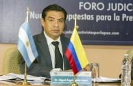 Dr. Miguel Ángel Aguilar López (México) Magistrado Noveno Tribunal Colegiado en Materia Penal del Primer Circuito