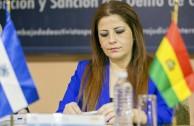 Lic. Gabriela Lara Santa Cruz (Bolivia), Directora General de la Embajada Mundial de Activistas por la Paz