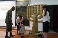 Commemoration in Memory of the Victims of the Holocaust in Bucaramanga