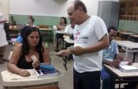 """Brasil apoya la campaña """"En la Sangre está la Vida"""""""