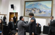Presentation of the GEAP and their porojects before the City Council of Mendoza, Argentina