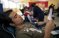 Chile supports the 5th International Blood Drive Marathon
