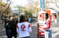 Mendoza, Argentina is present during the 5th International Blood Drive Marathon