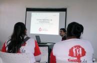 Capacitación en Mendoza Argentina para la 5 Maratón Internacional de donación de sangre