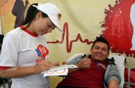 Ecuador supports the 5th Blood Drive Marathon