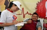 Ecuador supports the 5th Blood Drive Marathon