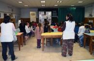 Forum at the N°6 School in Olavarria, Argentina