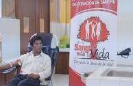 Perú participated in the 5th International Blood Drive Marathon, Life is in the Blood