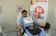 Perú participó en la 5ta. Maratón Internacional de Donación de Sangre  en la Sangre está la Vida