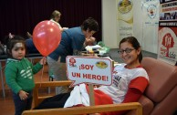 """In collaboration with various institutions and Activists for Peace, Argentina successfully concluded the 5th. International Marathon """"Life is in the Blood"""""""