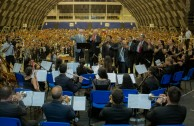 """Con gran éxito finaliza el Encuentro Juvenil Internacional """"La Música Trayendo Paz y Alegría a Nuestros Corazones"""""""