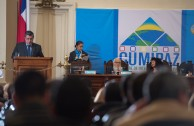 """""""We consider that human rights and fundamental rights require prompt attention, and that is justice; because if justice takes too long, it is not justice."""" Dr. Francisco Rozas Escalante. President of the II Criminal Court of Jail Prisoners of the Supreme Court of Justice in Peru. Judicial Session. CUMIPAZ 2015."""