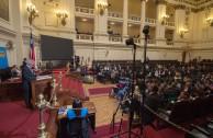 """""""La Onu y su papel en el mantenimiento de la paz y de la seguridad mundial"""" es la temática central de la segunda mesa de trabajo de la sesión judicial de la CUMIPAZ 2015."""