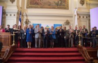 The Global Ambassador of Peace presented the Declaration of CUMIPAZ 2015. In 2016 the Summit will take place in Paraguay