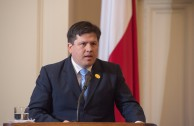 Lic. William Paras, Coordinador de Relaciones Internacionales EMAP