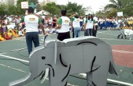 "The GEAP in Mexico celebrates the World Wildlife Day where thousands of activists and volunteers marched bearing the message: ""Let us save our Mother Earth's wildlife"""