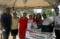 """Mexico: With the intention of donating life, citizens of Garcia City participated in the 6th International Blood Drive Marathon """"Life is in the Blood""""."""