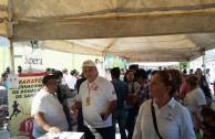 """México: Con la firme intención de donar vida, ciudadanos del municipio García participaron en la 6ta. Maratón Internacional """"En la Sangre está la Vida"""""""