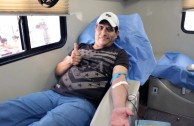 "Through the project ""Life is in the Blood"" Mexican citizens continue donating life during the  6th Blood Drive Marathon"