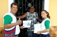 La EMAP en El Salvador en el marco del día internacional de los bosques y el agua realiza brigadas de concientización.
