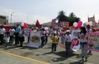 Habitants of Moro in Peru demonstrated solidarity for others