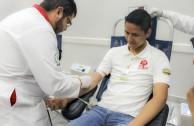 El Estado de Chihuahua dona sangre, dona vida.
