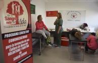 Los voluntarios de la EMAP invitan a los argentinos solidarios a donar sangre