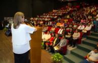 """Más de 300 estudiantes asistieron al Foro Educativo """"Educar para Recordar"""" en Mina, Nuevo León, México"""