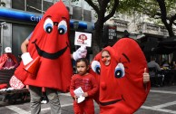 "Volunteers of the GEAP in Argentina promote the Integral Program ""Life is  in the Blood"""